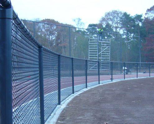 Vink Hekwerken gaashekwerk atletiekbaan