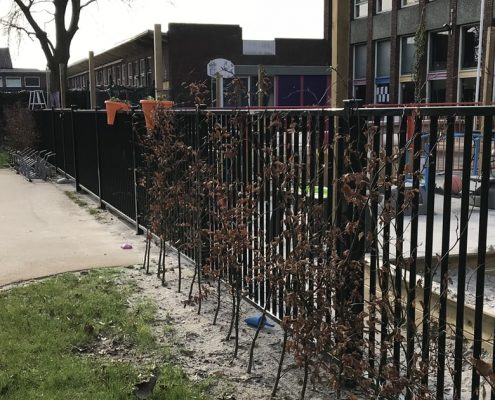 Vink Hekwerken spijlenhekwerk openbare ruimte school